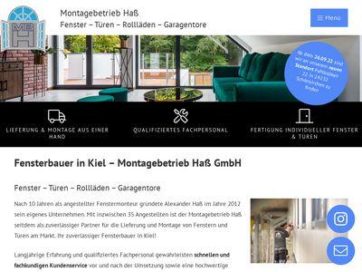 Montagebetrieb Haß GmbH