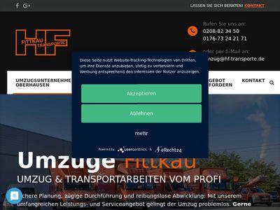 Umzug Oberhausen, H.F Transporte