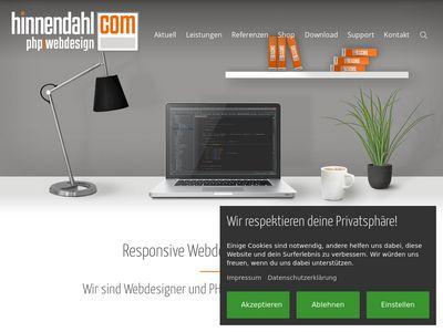 HINNENDAHL.COM - Webdesign