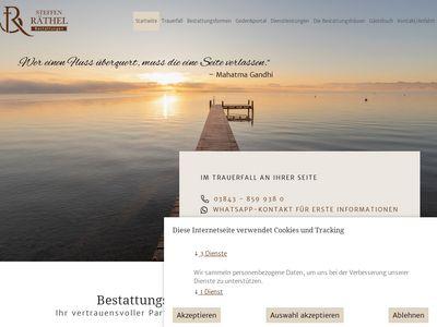 Bestattungen Güstrow - Steffen Räthel