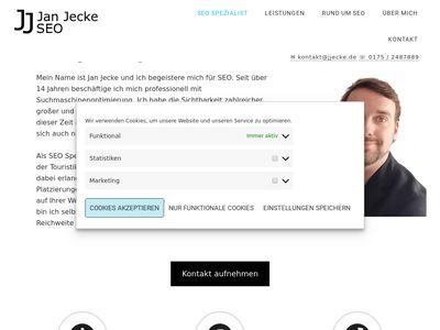 Jan Jecke - SEO Spezialist