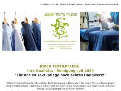 Joker Textilpflege in Holthausen
