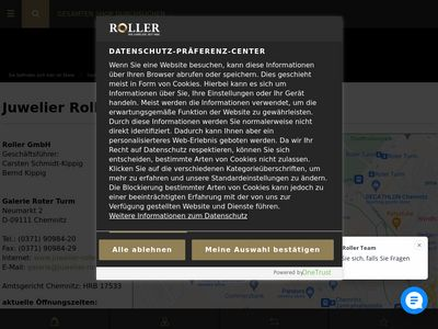 Juwelier Roller Galerie