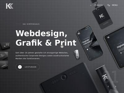Kai Kimpenhaus Webdesign | Grafik | Print