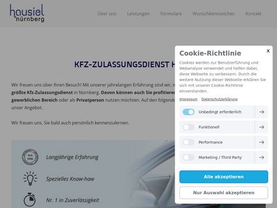 Jürgen Hausiel KFZ-Zulassungsdienst