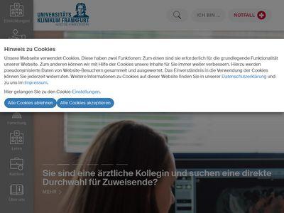 Universitäts-Klinikum Frankfurt (Main)