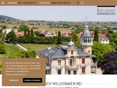 KOZLOWSKI Immobilien Mannheim