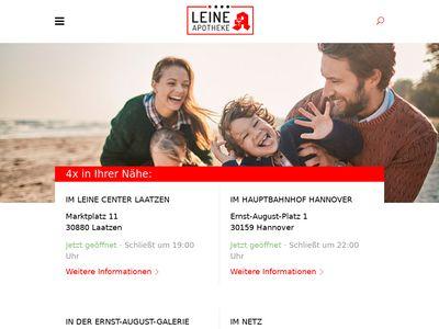 Leine Apotheke in der Ernst-August-Gallerie