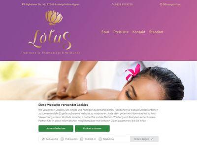 LOTUS Thaimassage