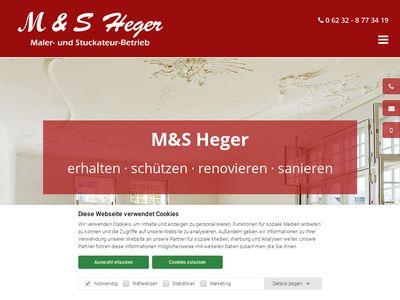 M & S Heger Maler- und Stuckateurbetrieb