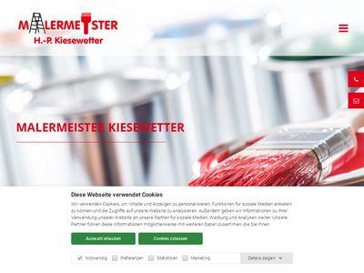 Malermeister H.-P. Kiesewetter