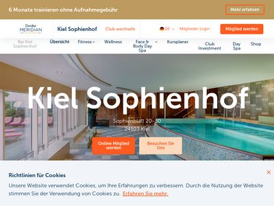 Meridian Spa & Fitness Sophienhof