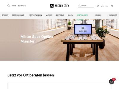 Mister Spex Optiker Münster