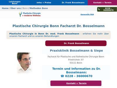 Moderne Wellness Plastische Chirurgie Bonn