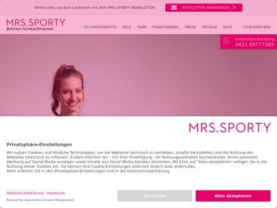 Mrs.Sporty Club Bremen-Schwachhausen