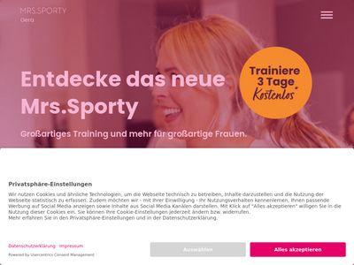 Mrs.Sporty Club Gera