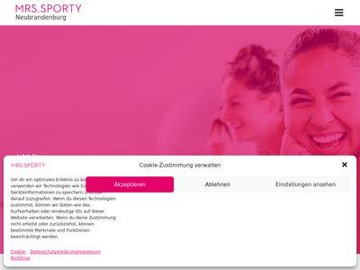 Mrs.Sporty Club Neubrandenburg