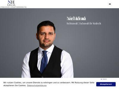 Nawied Haschimzada Rechtsanwalt Strafrecht - NH Legal