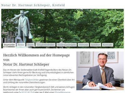 Notar Dr. Schlieper