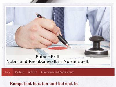 Rechtsanwalt und Notar Rainer Prill
