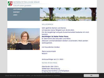 Notarin Petra Louise Krahé