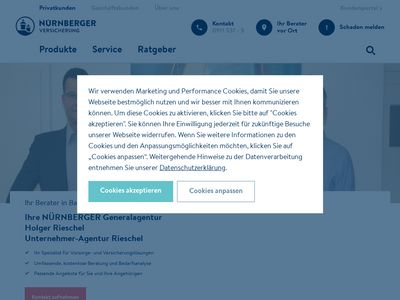 Generali Versicherung, Filialdirektion Bayreuth