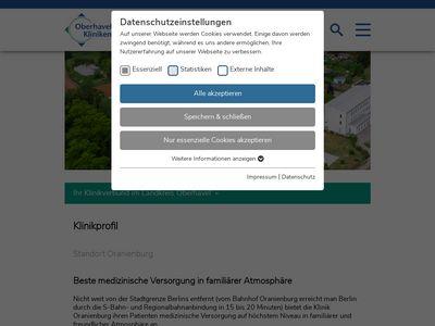 Oberhavel Klinik Oranienburg