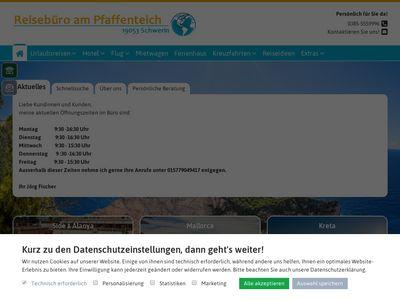 Reisebüro am Pfaffenteich