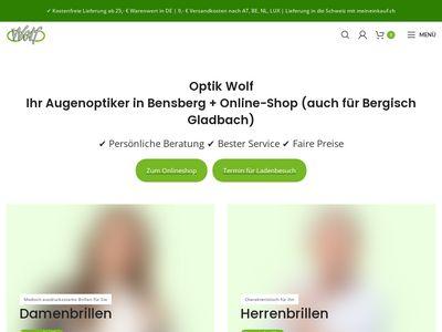 Optik wolf Inh. Bernhard Wolf