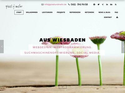 Pixel & Mehr Webdesign