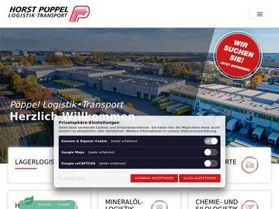 Horst Pöppel Logistik • Transport