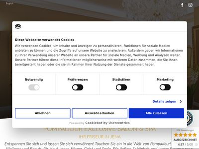 Pompadour Exclusive Salon + Spa