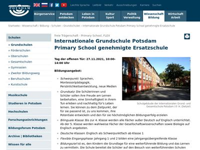 Internationale Grundschule Potsdam
