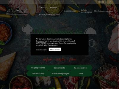 Prontissimo Party & Pizzaservice