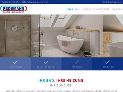 Redemann | Sanitär - Gas - Heizung