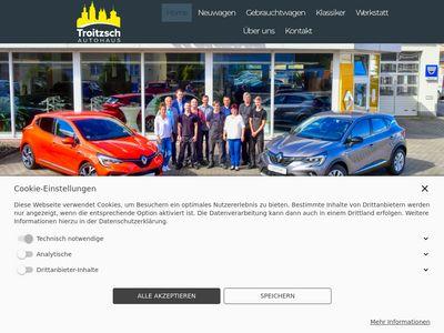 Autohaus Troitzsch - Renault und Dacia