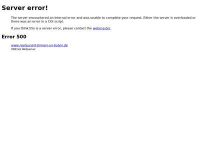 Binnen un Buten - Restaurant Deutsche Küche
