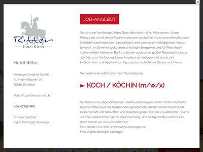 Hotel-Restaurant Ritter Inh. Helmut Hellriegel