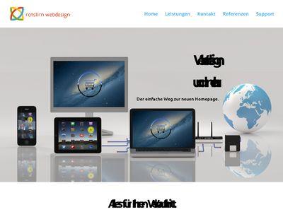 Rotstirn webdesign
