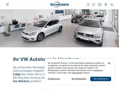 Scherer - VW Autohaus in Homburg