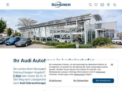 Audi Autohaus - Scherer Ludwigshafen