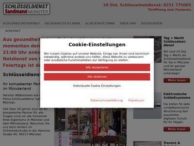 Schlüsseldienst Sandmann Münster