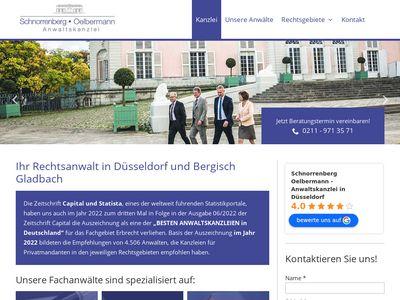 Schnorrenberg - Oelbermann Anwaltskanzlei
