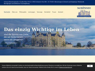 Schönsee Bestattungskultur GmbH