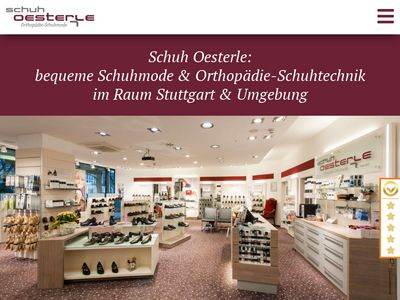 Schuh Oesterle