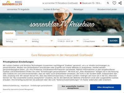 Sonnenklar.TV Reisebüro Greifswald