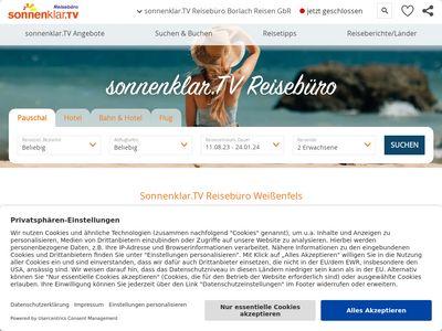 Sonnenklar.TV Reisebüro Borlach Reisen GbR