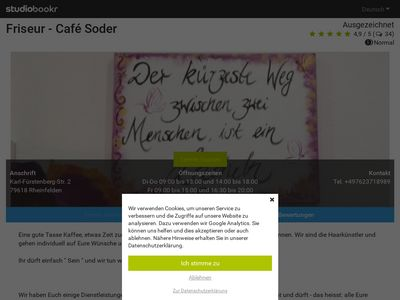 Friseur-Cafe Soder