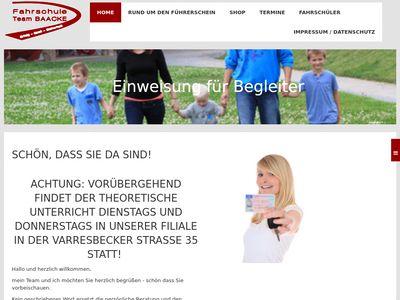 Fahrschule Team Baacke / Filiale Schwarzbach