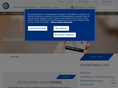 TÜV SÜD Service-Center Freiberg